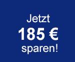 Jetzt 185 € sparen!