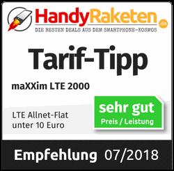 LTE 2000 Tarif-Tipp - HandyRaketen.de