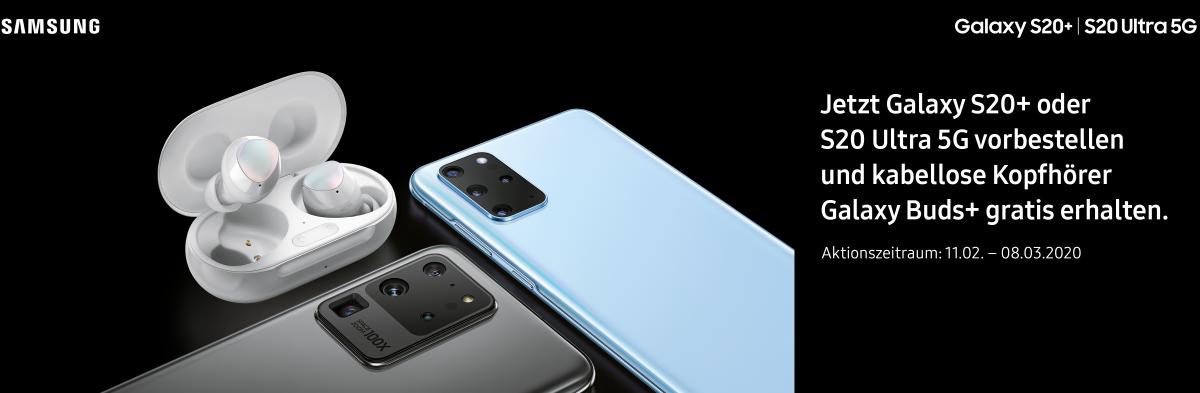 Samsung S20 vorbestellen