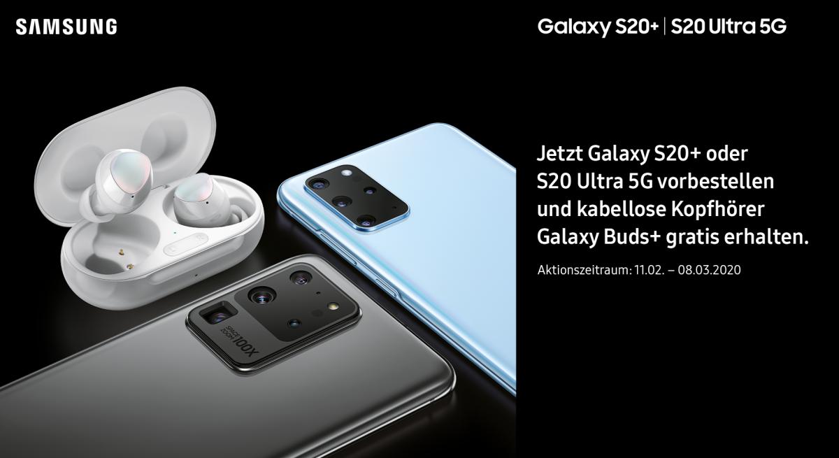 jetzt vorbestellen - Samsung S20 Hubble