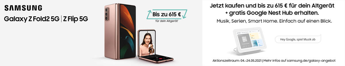 Samsung Galaxy Z Flip, Z Fold2