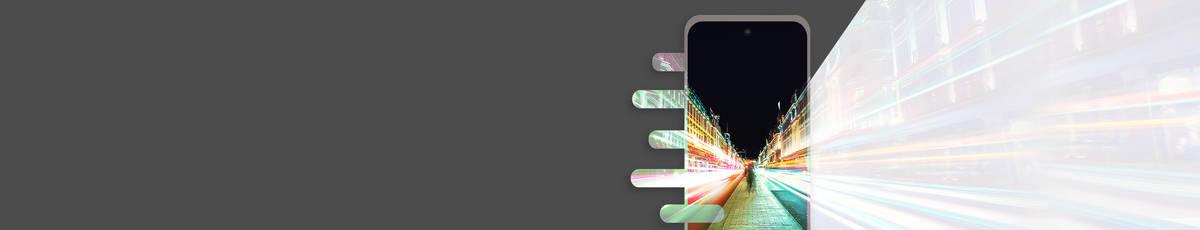 Handys mit 4G und 5G